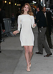 NEW YORK, NY - FEBRUARY 02: Singer Lana Del Rey arrives to 'Late Show with David Letterman' at Ed Sullivan Theater on February 2, 2012 in New York City.