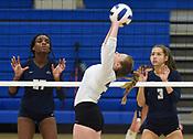 Bentonville West vs Rogers Volleyball - September 12, 2019