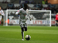 Pictured: Nathan Dyer of Swansea City in action <br /> Picture by D Legakis / Athena Picture Agency, Swansea, 07815441513