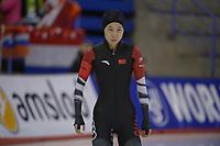 SPEEDSKATING: Calgary, The Olympic Oval, 08-02-2020, ISU World Cup Speed Skating, 500m Ladies Division B, Chong Pei (CHN), ©foto Martin de Jong