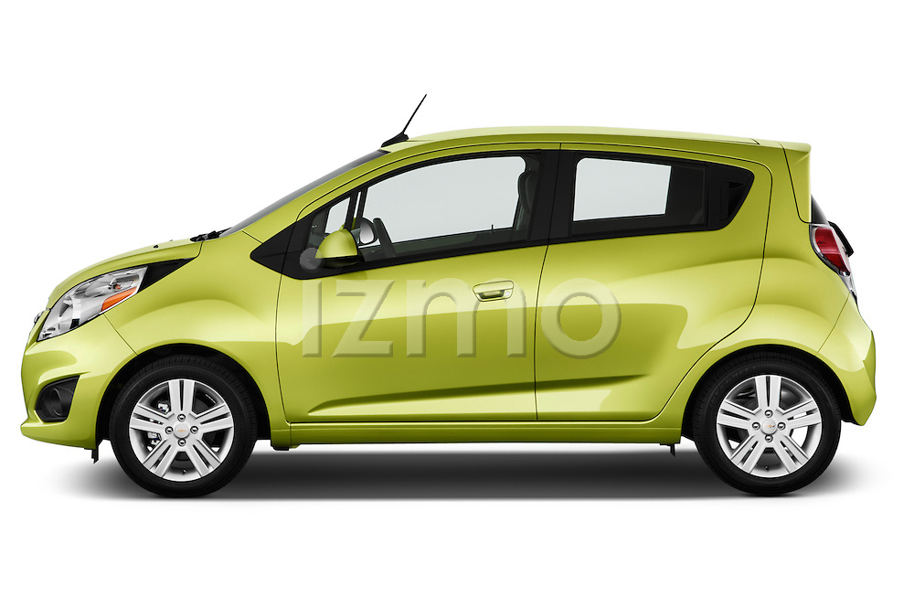 Driver side profile view of a .2013 Chevrolet Spark LS