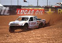 Apr 15, 2011; Surprise, AZ USA; LOORRS driver Carl Renezeder (17) during round 3 and 4 at Speedworld Off Road Park. Mandatory Credit: Mark J. Rebilas-.
