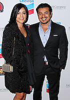 LOS ANGELES, CA, USA - MARCH 27: Sylvia Arzate, Jacob Vargas at the Cesar Chavez Foundation's 2014 Legacy Awards Dinner held at the Millennium Biltmore Hotel on March 27, 2014 in Los Angeles, California, United States. (Photo by Xavier Collin/Celebrity Monitor)
