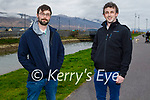 Enjoying a stroll in the Blennerville on Sunday, l to r: Daniel McCarthy and Sean Lyons.
