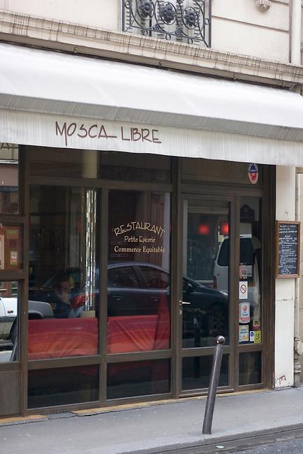 Exterior, Mosca Libre Restaurant, Paris, France
