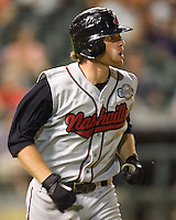 Gamel, Mat 5020.jpg. Nashville Sounds at Round Rock Express. August 27th, 2009 at the Dell Diamond in Round Rock, Texas. Photo by Andrew Woolley.