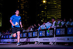 Athletes in action during the Bloomberg Square Mile Relay Hong Kong 2014 on November 06, 2014 at Central in Hong Kong, China. Photo by Aitor Alcalde / Power Sport Images