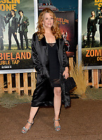 """LOS ANGELES, USA. October 11, 2019: Lea Thompson at the premiere of """"Zombieland: Double Tap"""" at the Regency Village Theatre.<br /> Picture: Paul Smith/Featureflash"""