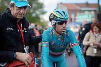 Vincenzo Nibali (ITA/Astana) after finishing<br /> <br /> 102nd Liège-Bastogne-Liège 2016