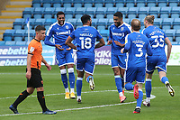 Jacob Mellis celebrates scoring Gillingham's second goal during Gillingham vs Oxford United, Sky Bet EFL League 1 Football at the MEMS Priestfield Stadium on 10th October 2020