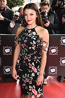 Faye Brookes<br /> arrives for the T.R.I.C. Awards 2017 at the Grosvenor House Hotel, Mayfair, London.<br /> <br /> <br /> ©Ash Knotek  D3240  14/03/2017