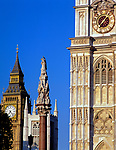 England, London: Westminster Abbey, St. Margret's Church und Big Ben | United Kingdom, London: Westminster Abbey, St. Margret's Church and Big Ben