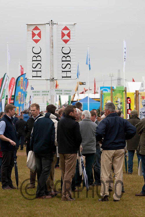 HSBC,Cereals 2012,Lincolnshire,England.Picture Tim Scrivener date taken 13th June 2012.Mobile 07850 303986 e-mail tim@agriphoto.com.?.covering agriculture in the Uk?.