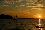 Casco Bay, Maine sunrise