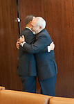 The Secretary-General with H.E. Mr. Javad Zarif, Minister for Foreign Affairs of Iran