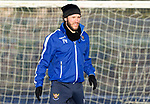 St Johnstone Training…. 06.01.21<br />Stevie May pictured during training at McDiarmid Park ahead of Saturday's game against local rivals Dundee Utd.<br />Picture by Graeme Hart.<br />Copyright Perthshire Picture Agency<br />Tel: 01738 623350  Mobile: 07990 594431