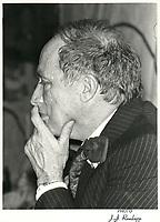 Pierre Trudeau (date inconnue) circa 1979-1980<br /> <br /> PHOTO : agence quebec presse