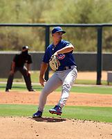 Tyler Schlaffer - Chicago Cubs 2021 spring training (Bill Mitchell)