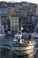 Europe/France/Corse/2B/Haute-Corse/Cap Corse/Bastia: Retour de pêche sur le port