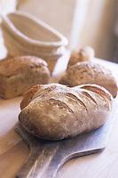 Europe/France/Normandie/Basse-Normandie/61/Orne/La Perrière : Les pains bio de la ferme de la Grande Suardière
