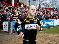 Photo: Richard Lane/Richard Lane Photography. Gloucester Rugby v London Wasps. Aviva Premiership. 26/12/2011. Wasps' Joe Simpson.