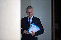 French Economy Minister Bruno Le Maire leaves the Elysee presidential palace following the weekly cabinet meeting on Wednesday, 28 June 2017 in Paris # CONSEIL DES MINISTRES DU 28/06/2017