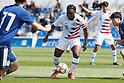 Football/Soccer: International friendly match - U20 USA 2-1 U20 Japan