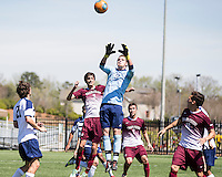 The College of Charleston Cougars played the  Georgia Southern Eagles in The Manchester Cup on April 5, 2014.  The Cougars won 2-0.  Robert Flott (0), Tucker Coons (3)