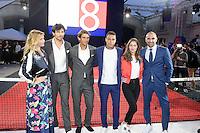 Justine FRAIOLI - Andres VELENCOSO SEGURA - Rafael NADAL - Gregory VAN DER WIEL - Marie-Ange CASTA - Jerome ALONZO - Tommy X Nadal Event - Tommy Hilfinger - Paris 18 mai 2016 - FRANCE