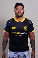 Vinnie Aso. 2021 Wellington Lions official rugby headshots at Rugby League Park in Wellington, New Zealand on Monday, 26 July 2021. Photo: Dave Lintott / lintottphoto.co.nz