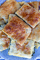 Traditional Greeck spinach pie
