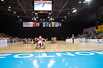 MISSISSAUGA, ON, AUGUST 12, 2015. Wheelchair Rugby - Canada vs USA in preliminary action. USA won the game 60-59 in double overtime.<br /> Photo: Dan Galbraith/Canadian Paralympic Committee