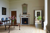 BNPS.co.uk (01202) 558833.<br /> Pic: Savills/BNPS<br /> <br /> Pictured: Jasper Conran's former six-bedroom apartment at the New Wardour Castle<br /> <br /> An impressive collection of furniture and artworks amassed by British designer Jasper Conran has sold for a massive £6.7m.<br /> <br /> Several paintings set new world auction records and the top lot was a 16th century portrait of Anthony Maria Browne, that sold for £742,500.<br /> <br /> The collection, which spans four centuries and had been gathered over 30 years, had filled Conran's impressive home at New Wardour Castle in Wiltshire.