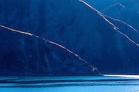 Heavenly Lake in China near Urumqi in far western China.