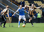 East Fife v St Johnstone…29.07.17… Bayview… Pre-Season Friendly<br />David Wotherspoon gets between Kieran Millar and Paul Willis<br />Picture by Graeme Hart.<br />Copyright Perthshire Picture Agency<br />Tel: 01738 623350  Mobile: 07990 594431