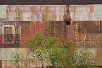 Industrial textures and abstracts - USS, US Steel Ambridge Works