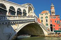 The Rialto Bridge, Venice Italy
