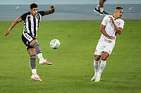 Rio de Janeiro (RJ), 01/08/2020 - Botafogo-Fluminense - Luis Henrique (e), do Botafogo.  Partida amistosa entre Botafogo e Fluminense, realizada no Estádio Nilton Santos (Engenhão), na zona norte do Rio de Janeiro,  neste sábado (01).