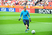 Fifa Women's World Cup Germany 2011 : England - France - at Leverkusen : Laetitia PHILIPPE.foto DAVID CATRY / Vrouwenteam.be