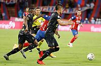 MEDELLIN - COLOMBIA, 28-07-2021: Deportivo Independiente Medellín y Once Caldas en partido por la fase III, Ida, de la Copa BetPlay DIMAYOR 2020 jugado en el estadio Atanasio Girardot de la ciudad de Medellín. / Deportivo Independiente Medellin and Once Caldas in match for the phase III, first leg, as part of the BetPlay DIMAYOR Cup 2020 played at Atanasio Girardot stadium in Medellin city. Photo: VizzorImage / Donaldo Zuluaga / Cont