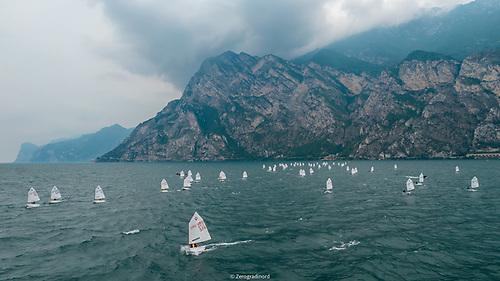 The 2021 Optimist World Championship at Riva del Garda