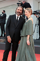 VENICE, ITALY - SEPTEMBER 11: Venezia78 Jury Member Saverio Costanzo and Alba Rohrwacher attend the closing ceremony red carpet during the 78th Venice International Film Festival on September 11, 2021 in Venice, Italy. <br /> CAP/MPI/AF<br /> ©AF/MPI/Capital Pictures