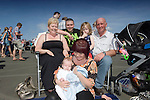 Easter family day at Ffos Las Race Course near Kidwelly, Carmarthenshire..