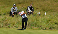 140719 | The 148th Open - Sunday Practice<br /> <br /> Patrick Reid on the 8th tee during practice for the 148th Open Championship at Royal Portrush Golf Club, County Antrim, Northern Ireland. Photo by John Dickson - DICKSONDIGITAL