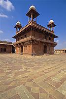 Indien, Uttar Pradesh, Fatehpur Sikri, Diwan i Khas, Unesco-Weltkulturerbe