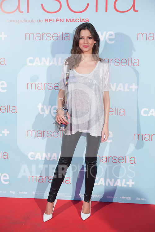 Ursula Corbero poses at `Marsella´ film premiere photocall at Capital cinema in Madrid, Spain. July 17, 2014. (ALTERPHOTOS/Victor Blanco)