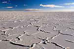 Salt flat, Salar de Uyuni, Altiplano, Bolivia