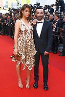 Adele Exarchopoulos et Nicolas Ghesquiere sur le tapis rouge pour la soirée dans le cadre de la journée anniversaire de la 70e édition du Festival du Film à Cannes, Palais des Festivals et des Congres, Cannes, Sud de la France, mardi 23 mai 2017.