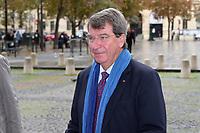 Xavier Darcos - Hommage à Gonzague Saint Bris en l'église Saint-Sulpice à Paris, France - 28/09/2017