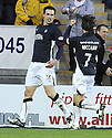 03/01/2009  Copyright Pic: James Stewart.File Name : sct_jspa04_falkirk_v_kilmarnock.STEVE LOVELL CELEBRATES AFTER HE SCORES FALKIRK'S FIRST.James Stewart Photo Agency 19 Carronlea Drive, Falkirk. FK2 8DN      Vat Reg No. 607 6932 25.Studio      : +44 (0)1324 611191 .Mobile      : +44 (0)7721 416997.E-mail  :  jim@jspa.co.uk.If you require further information then contact Jim Stewart on any of the numbers above.........